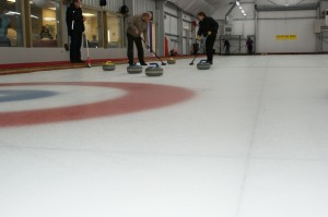 On the ice on Sheet 1
