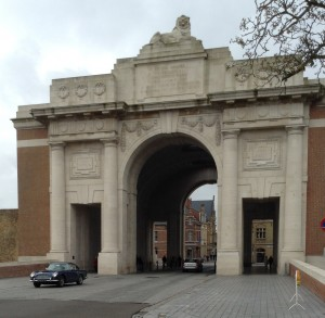 2015-04-26 11.11.56 AMOC Area 16 Belgium Trip (April 2015)  DB5 at Menin Gate