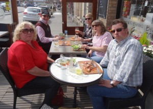 DSC05084 AMOC Area 16 Belgium Trip (April 2015) Lunch at  Bergues