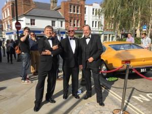 Horsham Event Drive out Drivers Mick Newson Allan MacCormac Gary Wigzell Horsham Event 4th Oct 2015 Web 1